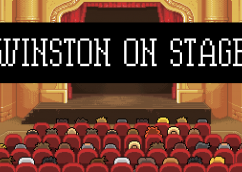 Winston on Stage